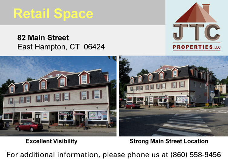 Retail Space 82 Main St. East Hampton, CT